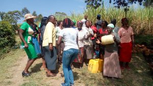 The Water Project:  Celebration Break During Training