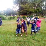 The Water Project: Shikusa Primary School -  Students Playing