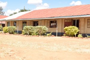The Water Project:  New Bushes And Trees Planted Along The Classrooms