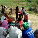 The Water Project: Indete Community, Udi Spring -  Handwashing Training
