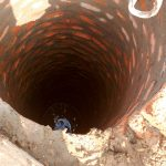 The Water Project: Alimugonza Community -  Well Construction