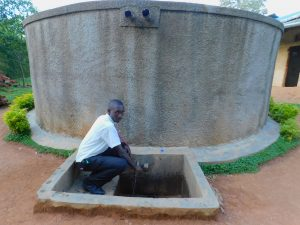 The Water Project:  A Student Fetches Water