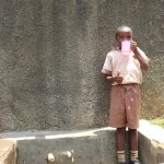 The Water Project: Compassion Primary School -  Thumbs Up For Reliable Water