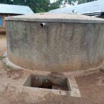 The Water Project: Kakubudu Primary School -  Reliable Water Running From The Tank