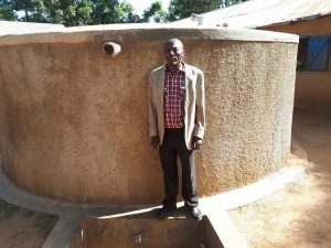 The Water Project:  Solomon Busumu