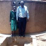 The Water Project: Essaba Primary School -  Deputy Headteacher John Amukowa And Magret Anyona