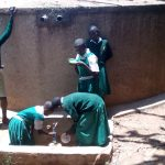 The Water Project: Essaba Primary School -  Fetching Water