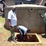 The Water Project: Ebukanga Secondary School -  Fetching Water