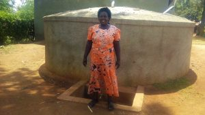 The Water Project:  Headmistress Esther Asitiba