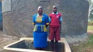 The Water Project:  Field Officer Betty Muhango And Augustine Murunga