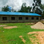 The Water Project: Tulon Secondary School -  A New Dormitory Done By The Parents Near The Doors Vip Latrines Given By Twp