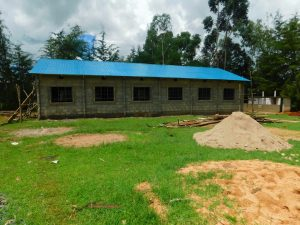 The Water Project:  A New Dormitory Done By The Parents Near The Doors Vip Latrines Given By Twp