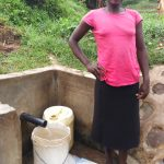 The Water Project: Shiamboko Community, Oluchinji Spring -  Betty Nambiro