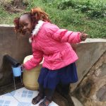 The Water Project: Shiamboko Community -  Thumbs Up For Reliable Water