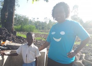 The Water Project:  Hesbone Namalo And Field Officer Karen Maruti