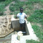 The Water Project: Lutali Community, Lukoye Spring -  Fidelis Shanguya