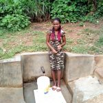 The Water Project: Handidi Community, Matunda Spring -  Fetching Water At Matunda Spring