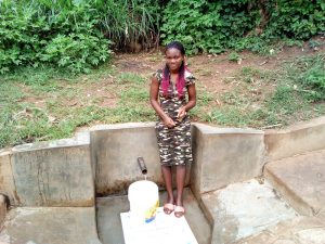 The Water Project:  Fetching Water At Matunda Spring