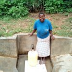 The Water Project: Handidi Community, Matunda Spring -  Magdalyne Wasambili