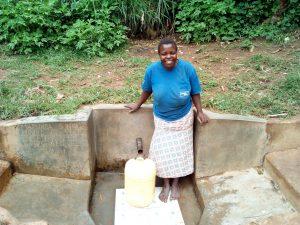 The Water Project:  Magdalyne Wasambili
