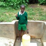 The Water Project: Handidi Community, Matunda Spring -  Samson Matunda