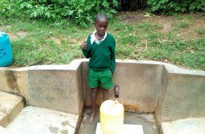 The Water Project:  Samson Matunda