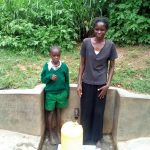 The Water Project: Handidi Community, Matunda Spring -  Samson Matunda And His Mother