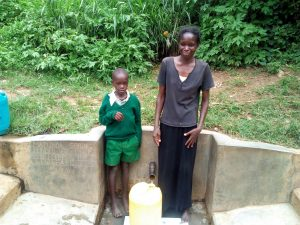The Water Project:  Samson Matunda And His Mother