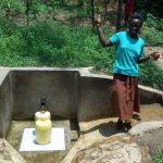 The Water Project: Mungulu Community, Zikhungu Spring -  Abigael Kasiti