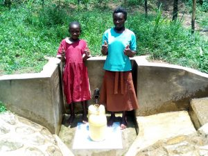 The Water Project:  Pamela Atieno And Abigael Kasiti