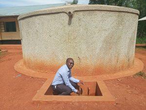 The Water Project:  Bramuel Amudavi