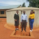 The Water Project: Evojo Secondary School -  Cynthia Avusha Bramuel Amudavi And Field Officer Faith Muthama