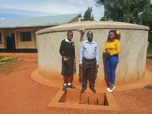 The Water Project:  Cynthia Avusha Bramuel Amudavi And Field Officer Faith Muthama