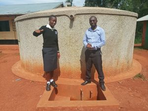 The Water Project:  Cynthia Avusha And Bramuel Amudavi