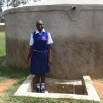 The Water Project: Matete Girls High School -  Edah Lutomia At The Tank