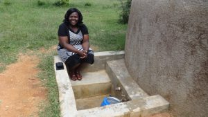 The Water Project:  Karen Luseka