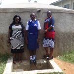 The Water Project: Matete Girls High School -  Karen Luseka Edah Lutomia And Field Officer Mary Afandi