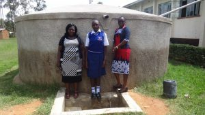 The Water Project:  Karen Luseka Edah Lutomia And Field Officer Mary Afandi