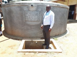The Water Project:  Mr Chrispinus Owino
