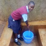 The Water Project: Ebubayi Secondary School -  Esther Minayo