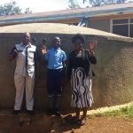 The Water Project: Mumias Central Primary School -  Thumbs Up For Improved Water Access
