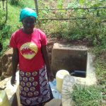 The Water Project: Ebuhando Community, Christopher Omasaba Spring -  Susan Ojwang