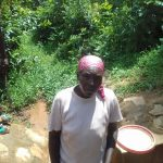 The Water Project: Lugango Community, Lugango Spring -  Margaret Lihanda