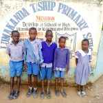 The Water Project: Lumakanda Township Primary School -  Students At The Gate
