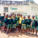 The Water Project: Majengo Primary School -  Students Posing At School Gate