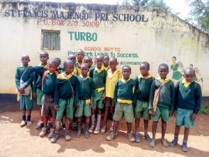 The Water Project:  Students Posing At School Gate