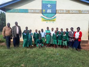 The Water Project:  Some Students And Administration