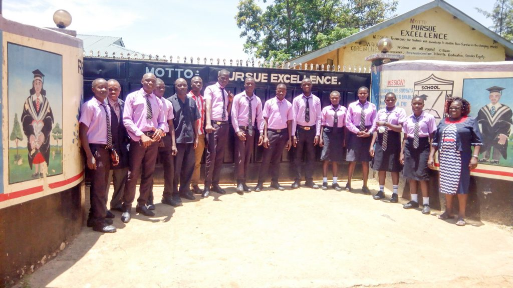 The Water Project : 1-kenya19040-school-gate