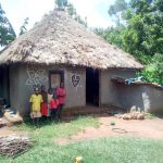 The Water Project: Mukangu Community, Lihungu Spring -  Typical Household