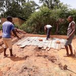 The Water Project: Kapsotik Primary School -  Latrine Construction